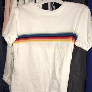 Brandy Melville cropped shirt never been worn